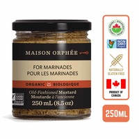 Maison Orphee Organic Old-Fashioned Mustard - by Foodsterr