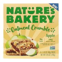 Nature's Bakery Oatmeal Crumble Bars Apple