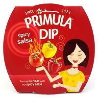 Primula Spicy Salsa Dip Gluten Free Suitable For Vegetarians