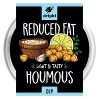 Delphi Fresh Low Fat Hummus Dip Gluten and Dairy Free Vegan
