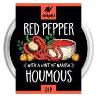Delphi Chargrilled Red Pepper Hummus Dip Gluten Free Vegan