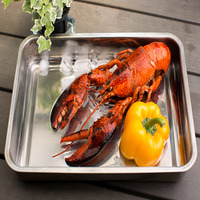 Catch Seafood Cooked Boston Lobster Whole
