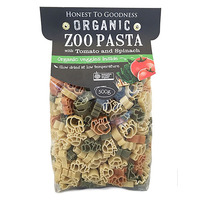 Honest To Goodness Zoo Pasta With Tomato And Spinach
