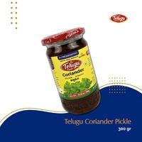 Telugu Cilantro Coriander Pickle