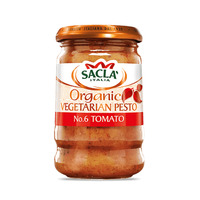 Sacla Organic Vegetarian Tomato Pesto - By Sonnamera