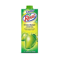 Dabur Real Green Mango (Aampanna) Fruit Juice Drink - By Sonnamera