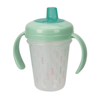 The First Years Stackable 7oz Soft Spout Trainer Cup - Pink/Green