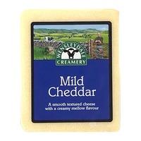 Wensleydale Creamery Mild White Cheddar Parchment Block
