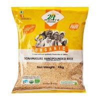 24 Mantra Organic Sonamasuri Semibrown (Handpounded) Rice