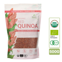 Nature's Superfoods Organic Red Quinoa Seeds
