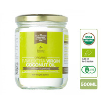 Nature's Superfoods Organic Extra Virgin Coconut Oil (glass jar)