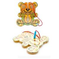 VIP Pin Ball Tracing Toy - Bear