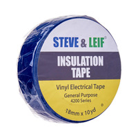Steve & Leif Blue Pvc Electrical Insulation Tape (18mmx10Y)