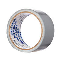Steve & Leif Silver Cloth Tape Sliver (48mm x 7m)