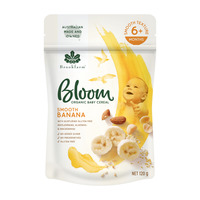 Brookfarm Bloom Organic Baby Cereal Smooth Banana