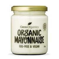 Ceres Organics Mayonnaise Egg Free Vegan