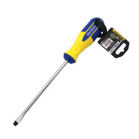 Steve & Leif 6 inch Yellow/Blue Slotted Screwdriver (6x150mm)