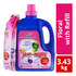 Yuri-matic Laundry Liquid Detergent with Refill - Floral