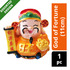 Imported CNY Decoration - God of Fortune (11cm)