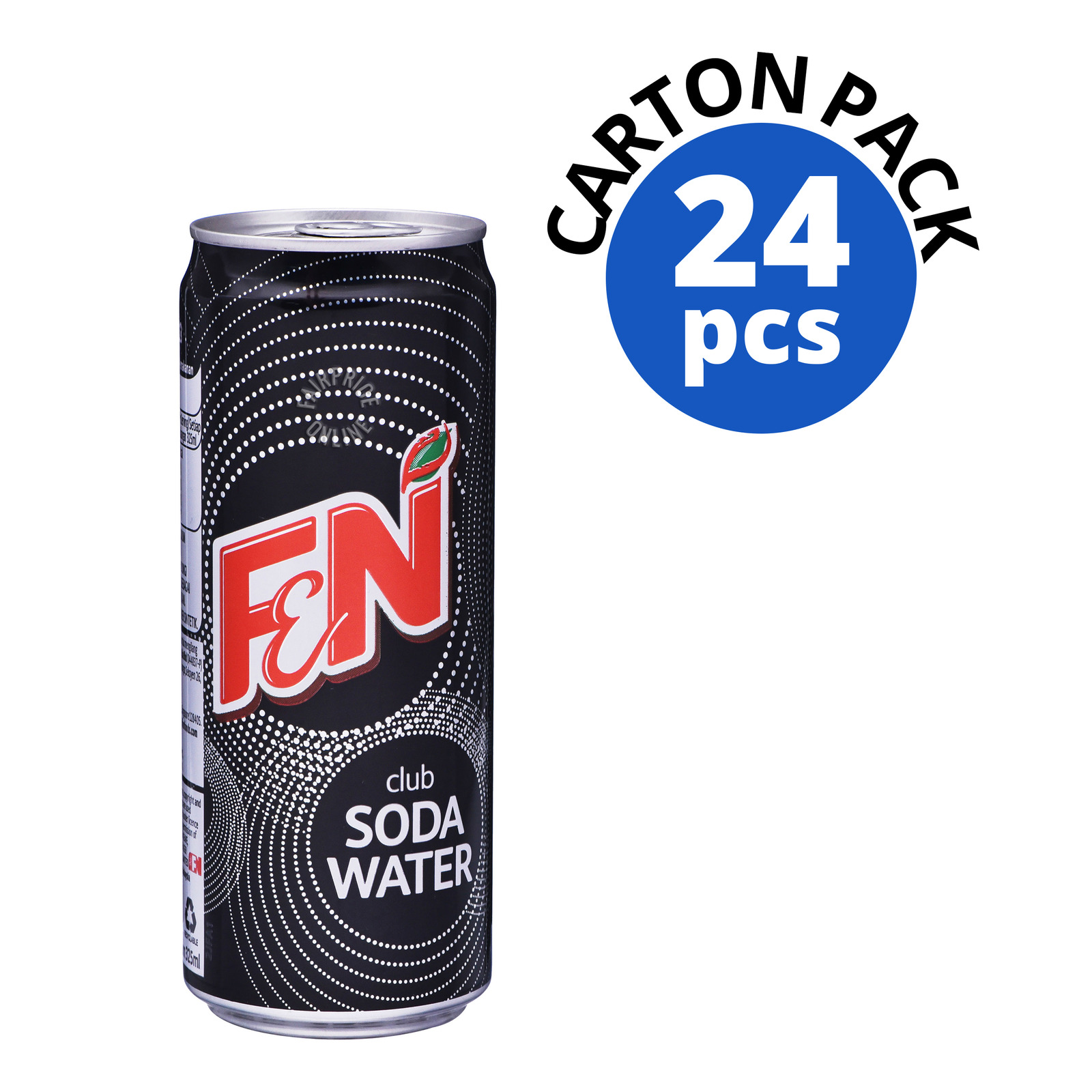 F&N Can Drink - Club Soda Water