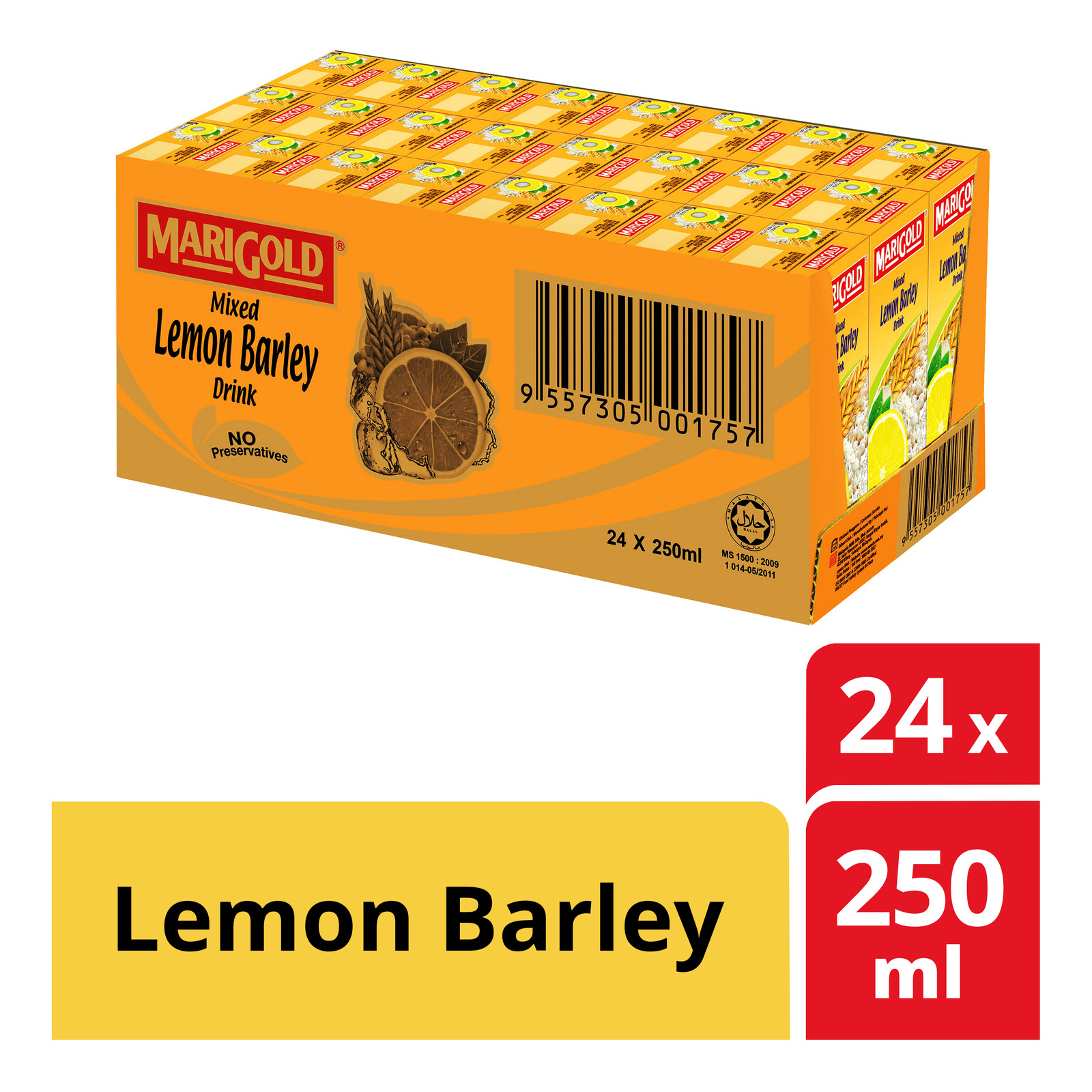 MARIGOLD Mixed Lemon Barley Drink 24sX250ml