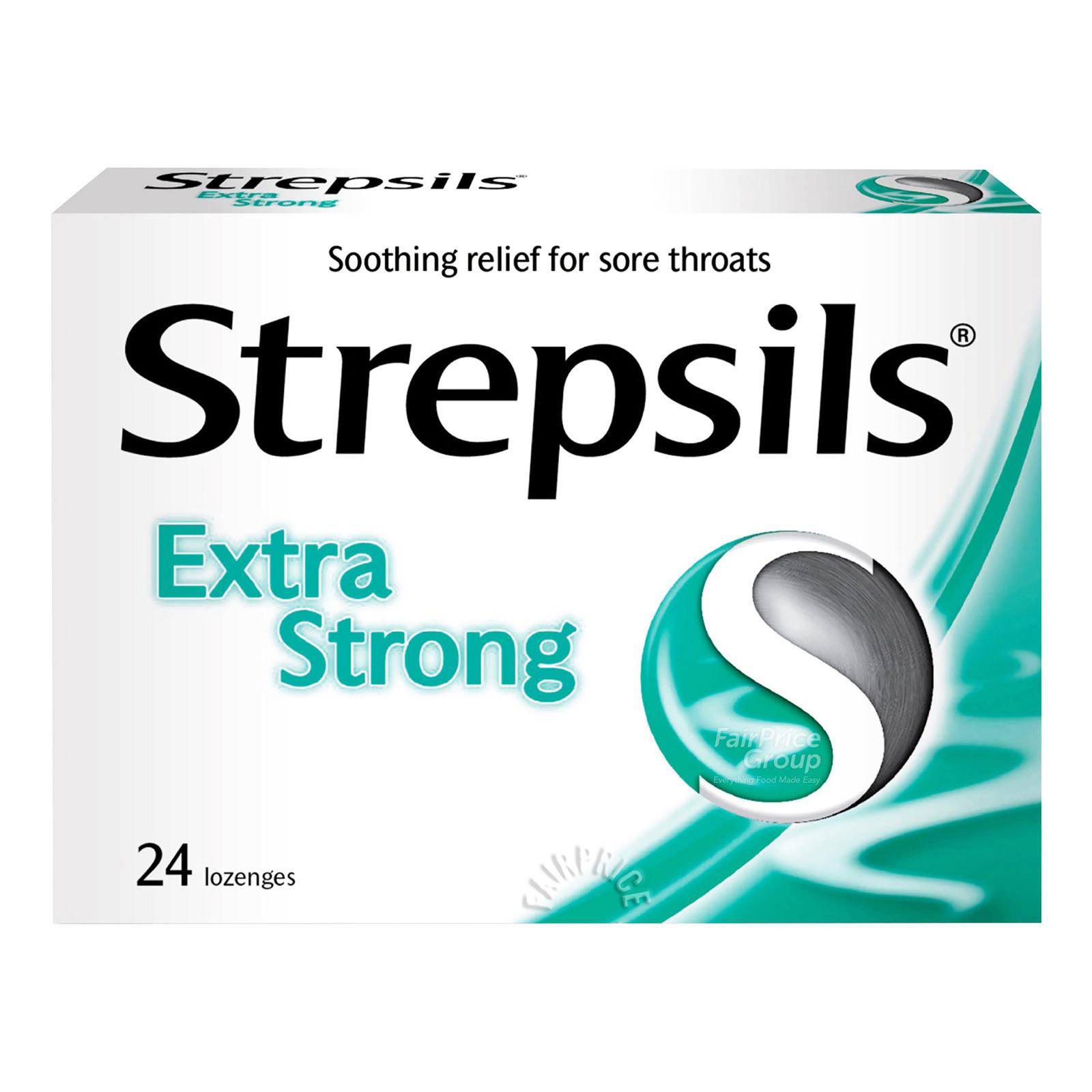 Strepsils Lozenges Box - Extra Strong
