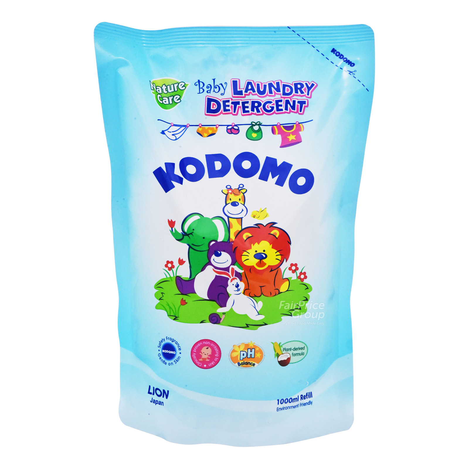 Kodomo Baby Laundry Detergent Refill - Nature Care