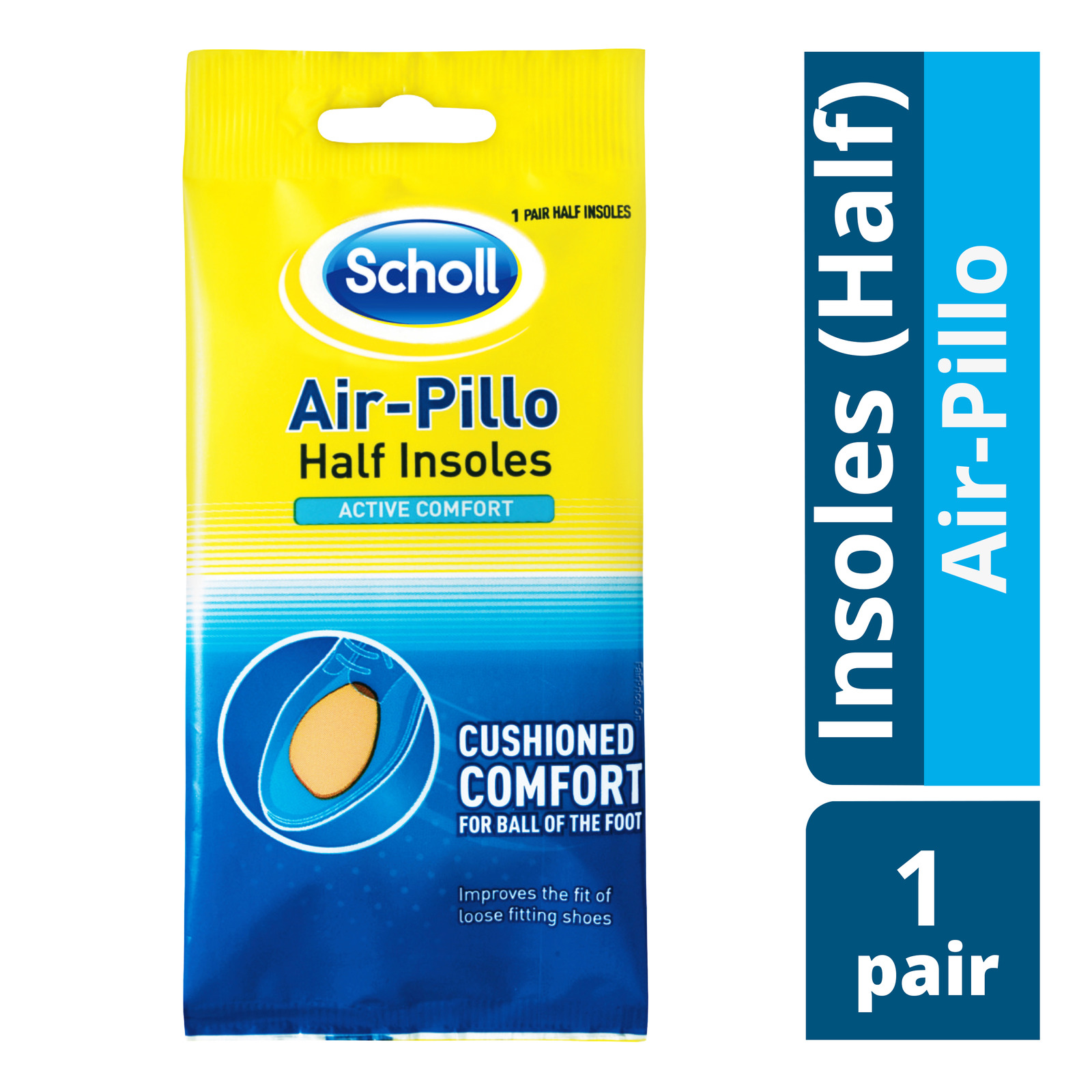 Scholl Half Insoles - Air-Pillo