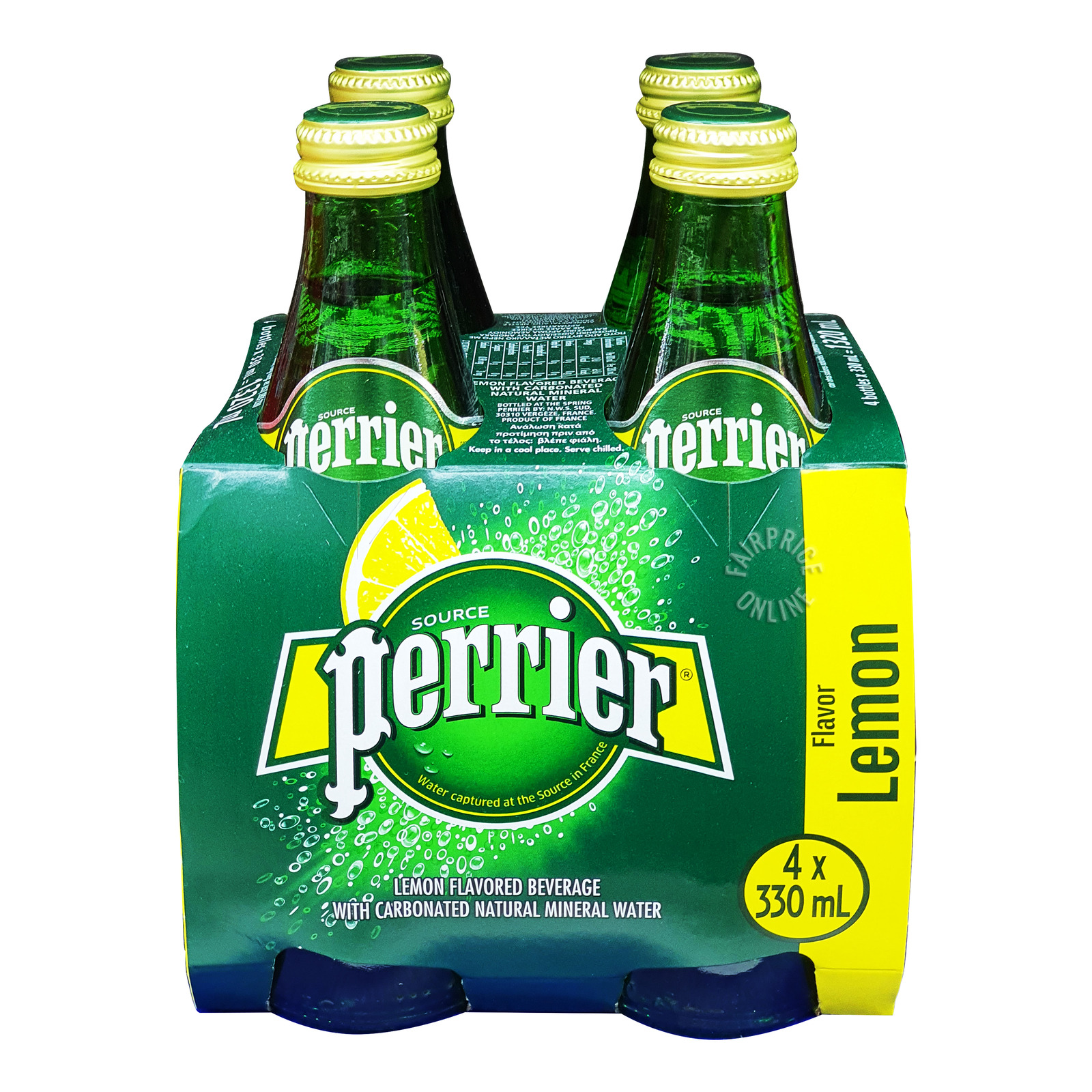 Perrier Sparkling Mineral Bottle Water - Lemon