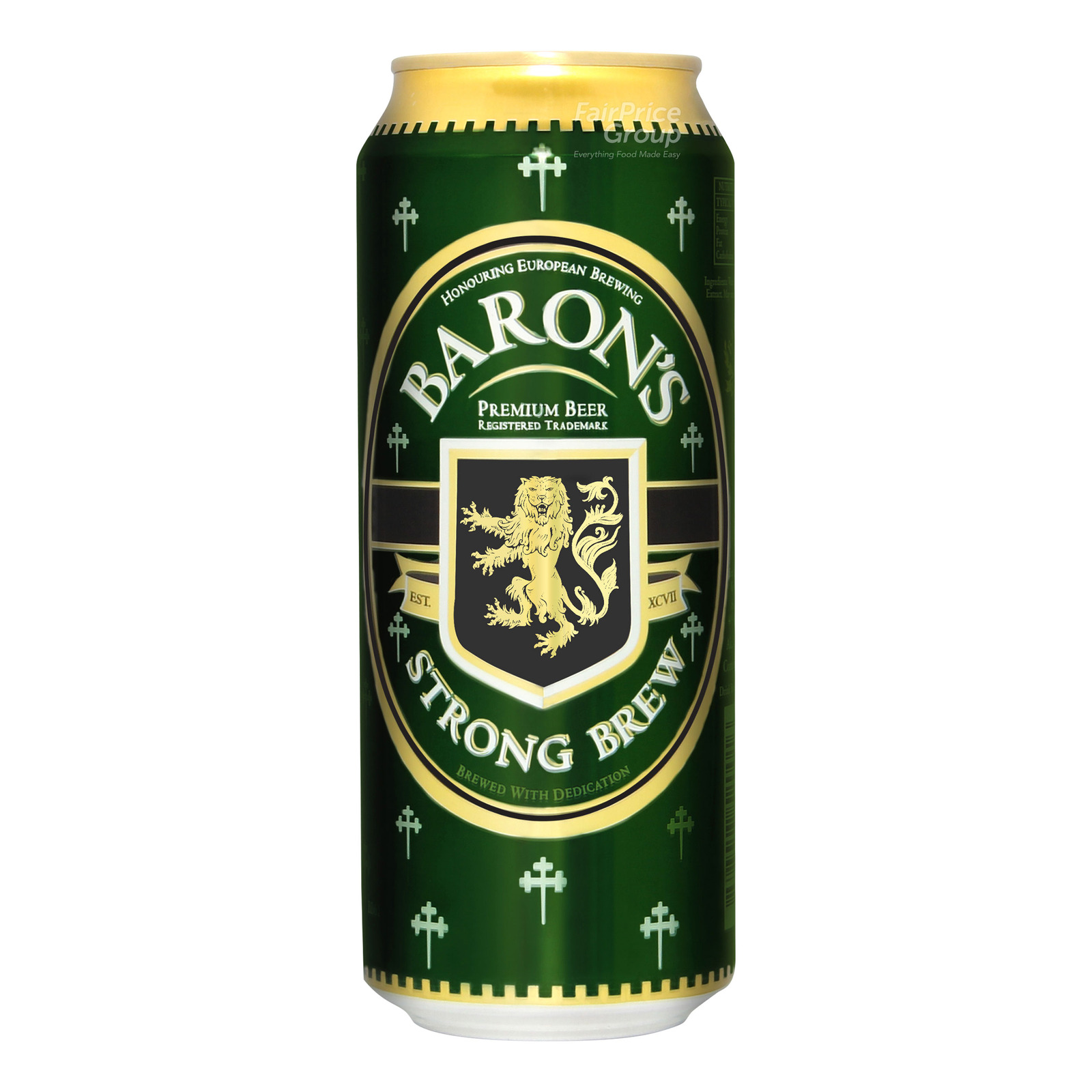 Baron's Can Beer - Strong Brew