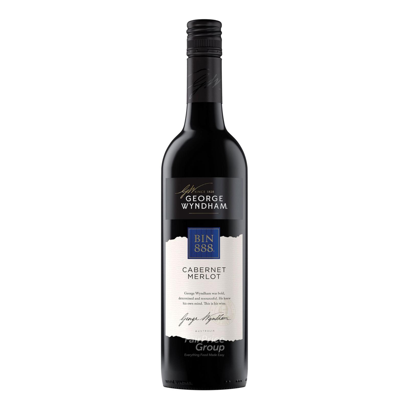 Wyndham Estate Red Wine - Bin 888 Cabernet Merlot
