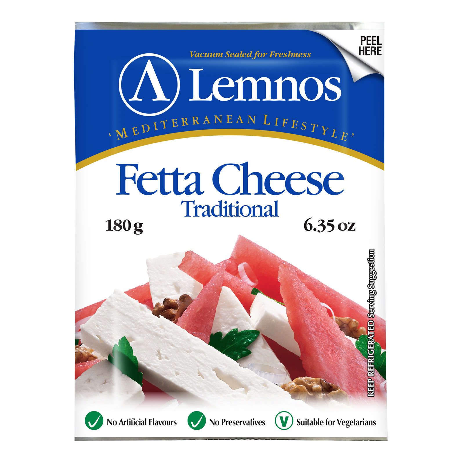 Lemnos Fetta Cheese - Traditional