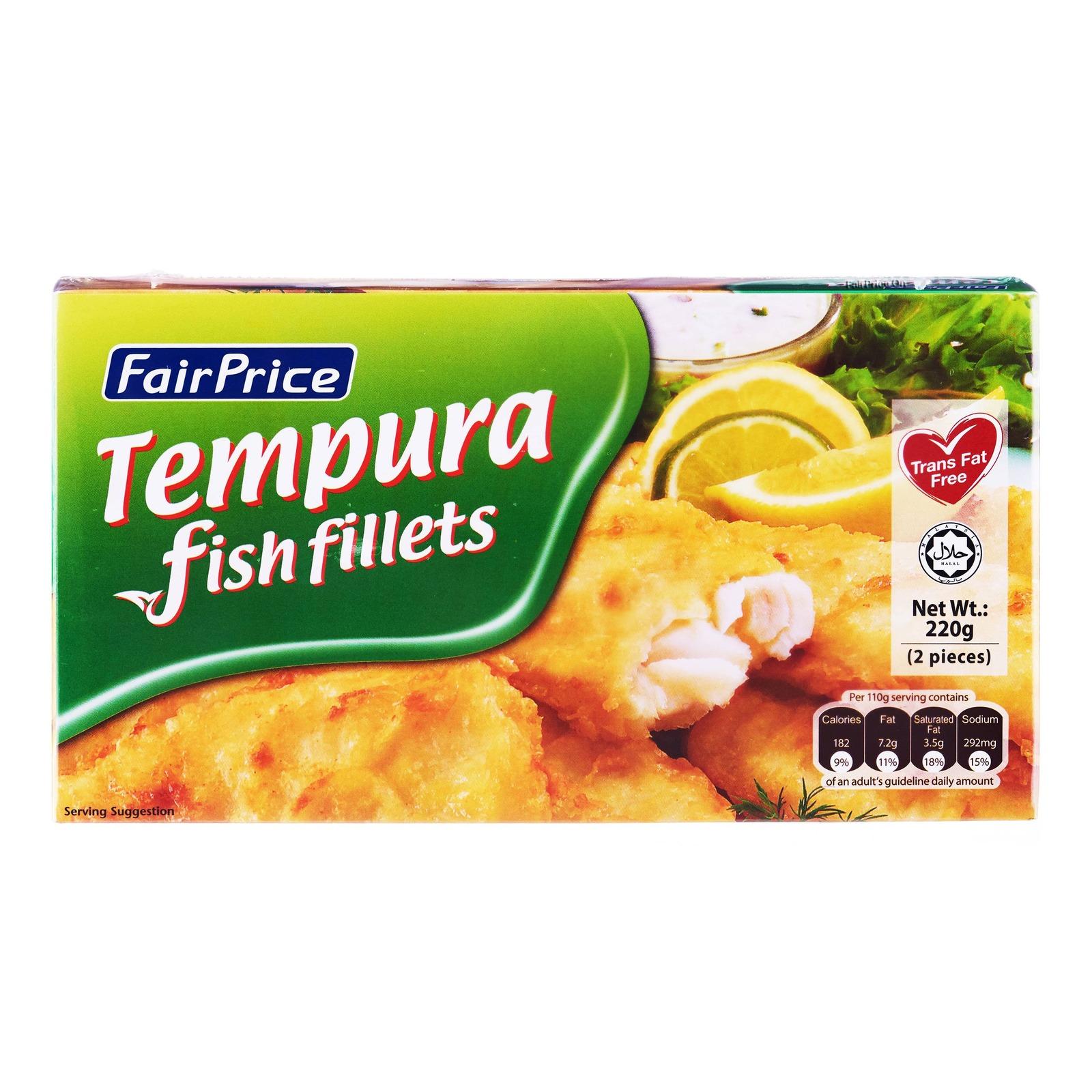 FairPrice Frozen Tempura Fish Fillets