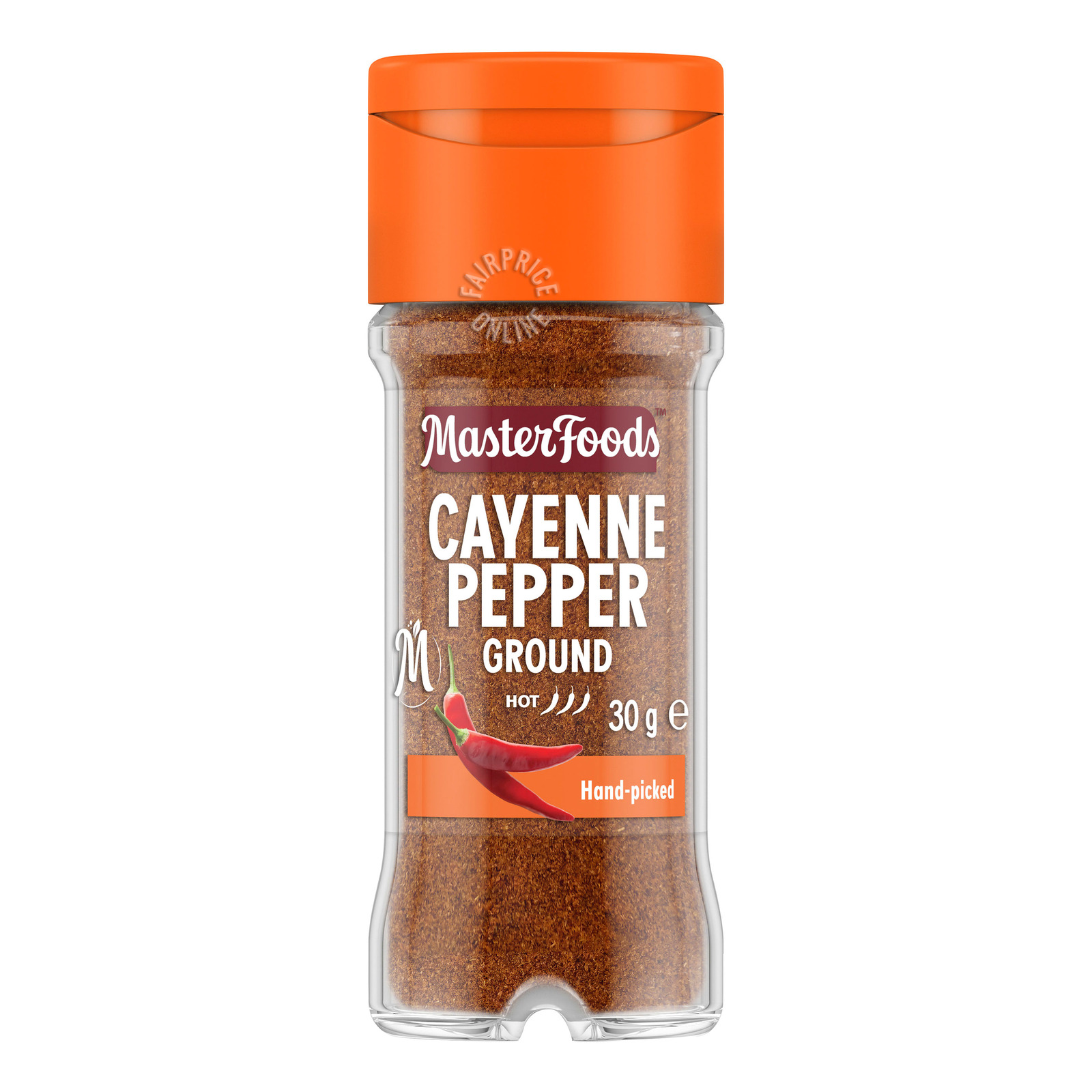 MasterFoods Spices - Pepper Cayenne (Extra Hot)