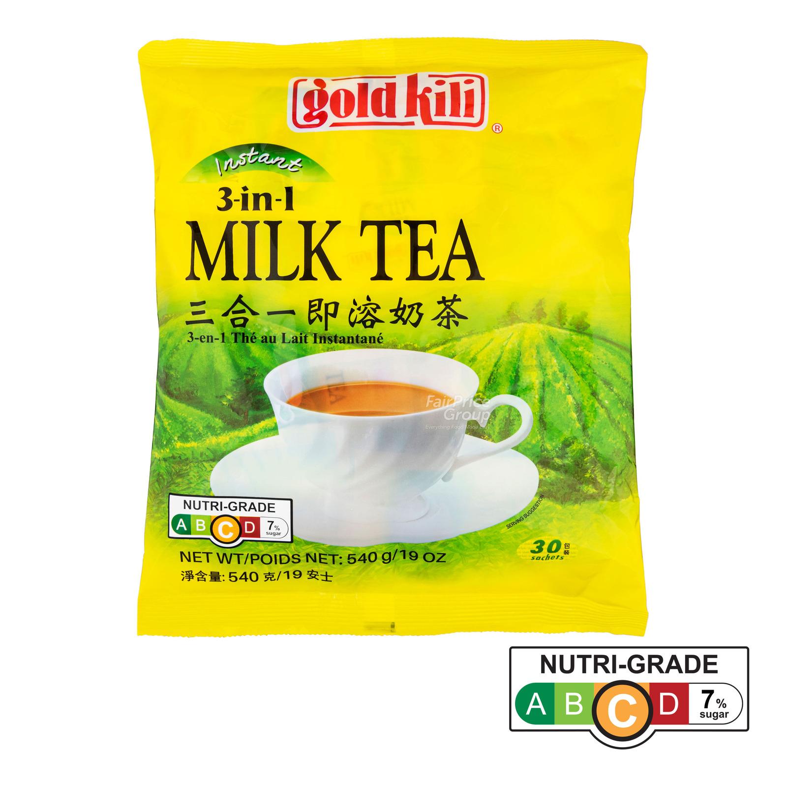 Gold Kili 3 in 1 Instant Milk Tea