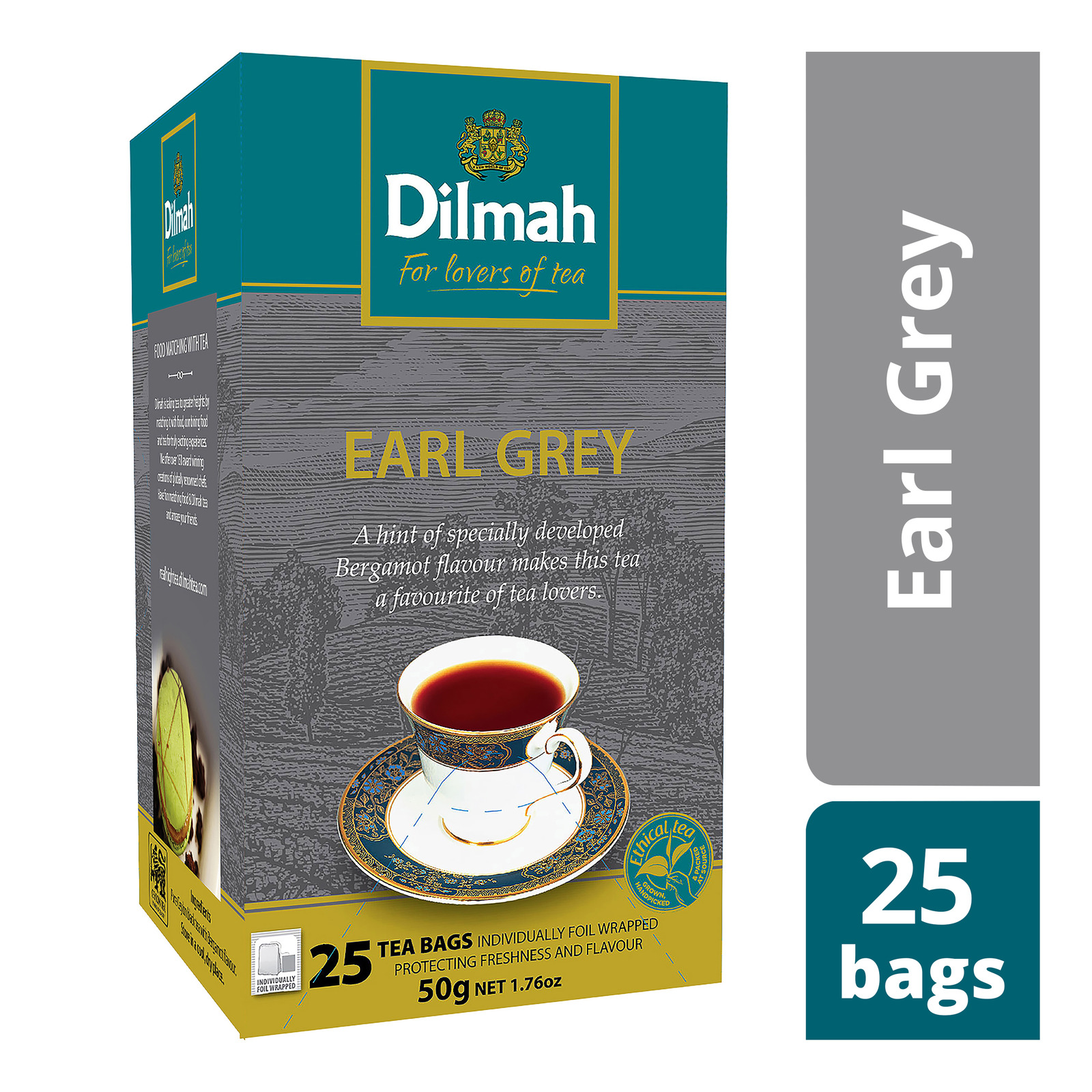 Dilmah Pure Ceylon Tea Bags - Earl Grey