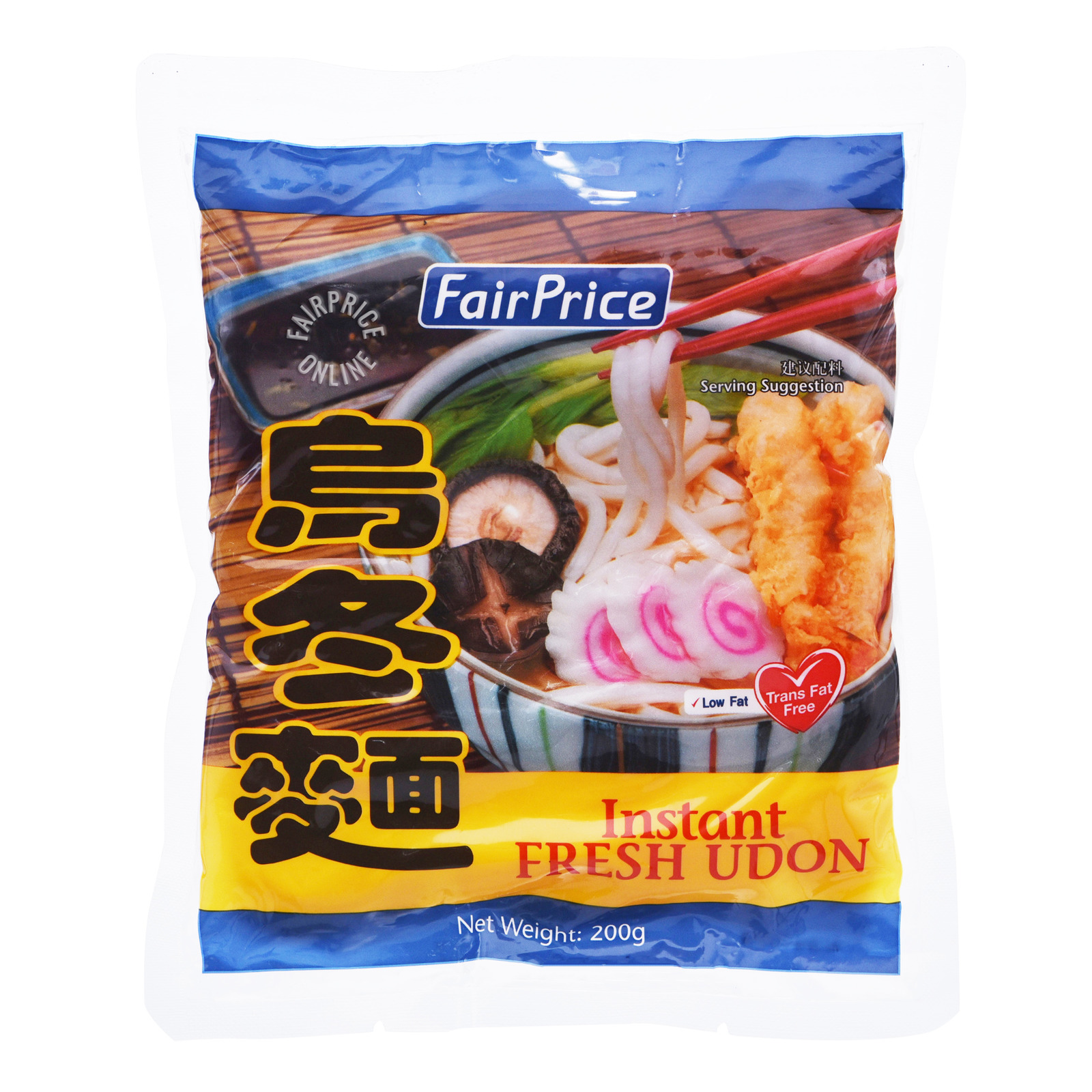 FairPrice Instant Fresh Japanese Udon