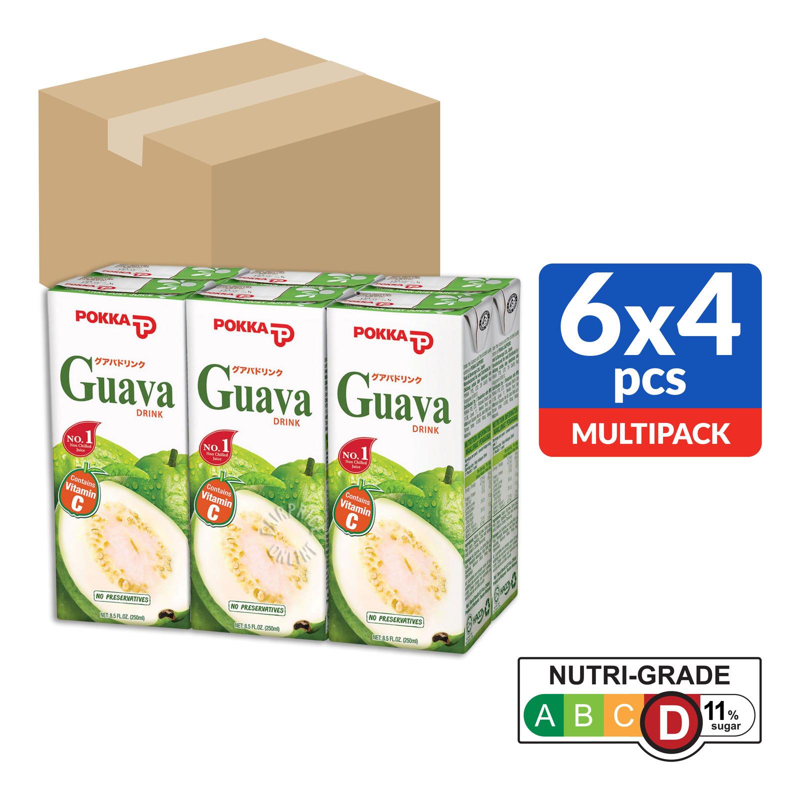 Pokka Packet Drink - Guava Juice