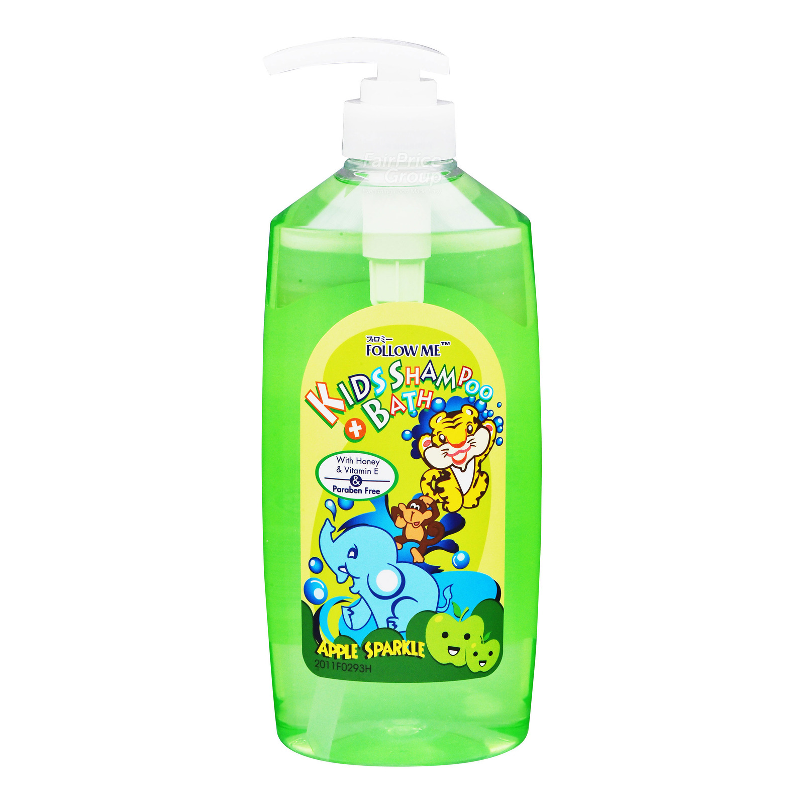 Follow Me Kids Shampoo & Bath Wash - Apple Sparkle