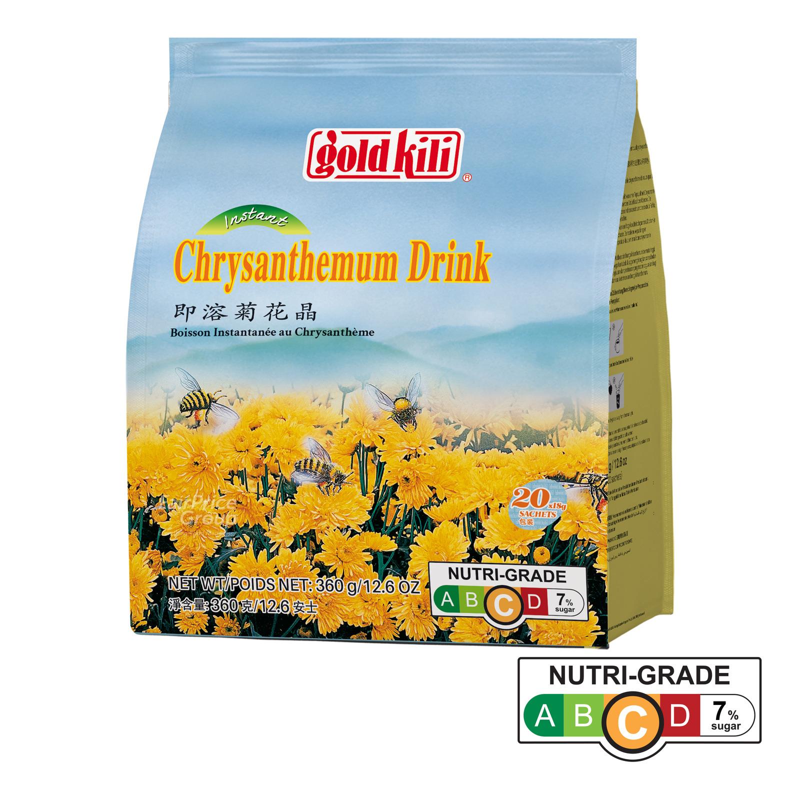 Gold Kili Instant Chrysanthemum Drink - Honey