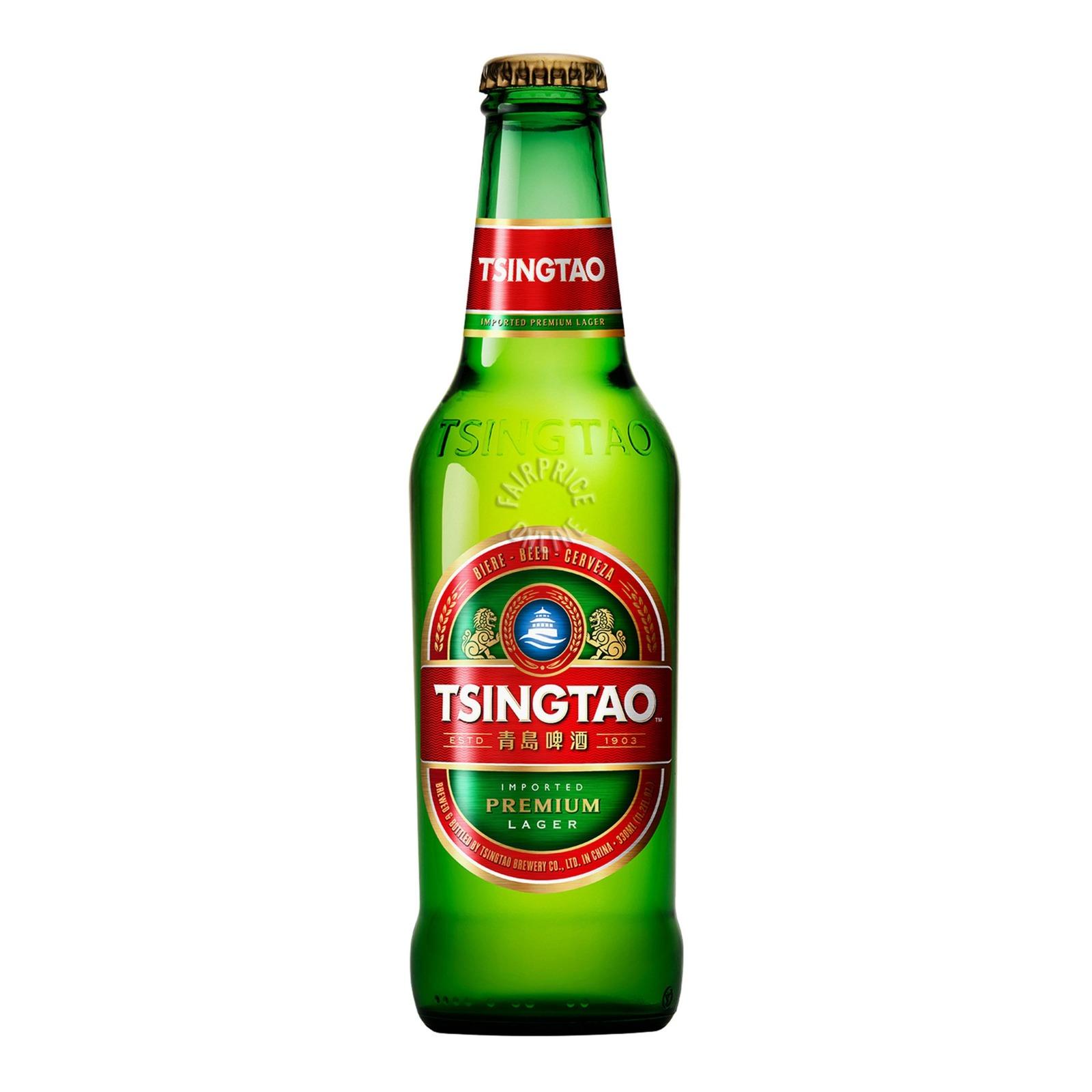 Tsingtao Beer (Bot) ALC5% 640ML