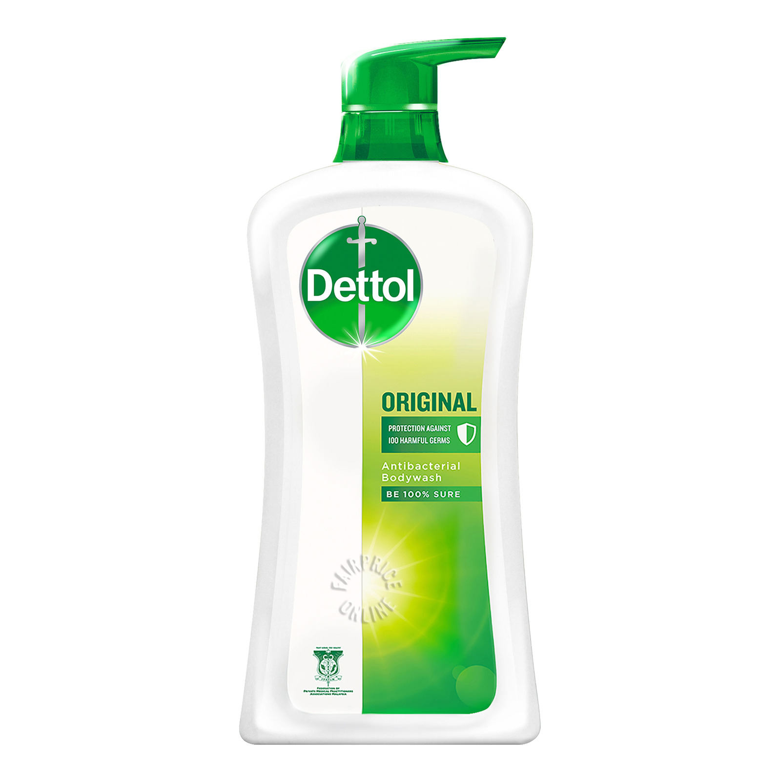 Dettol Anti-Bacterial pH-Balanced Body Wash - Original