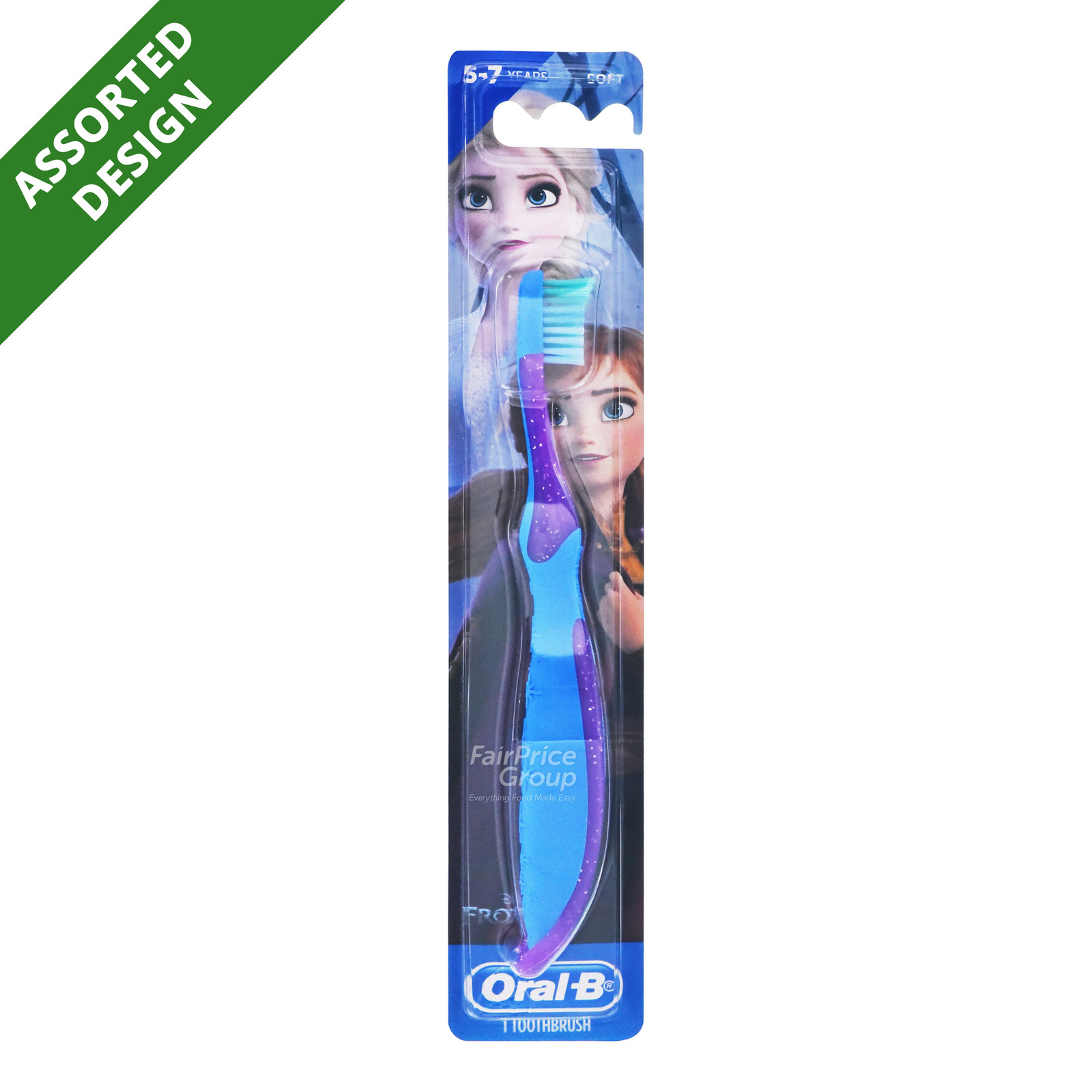 Oral-B Kids Toothbrush - Stages 3 (5 - 7years)   FairPrice ...