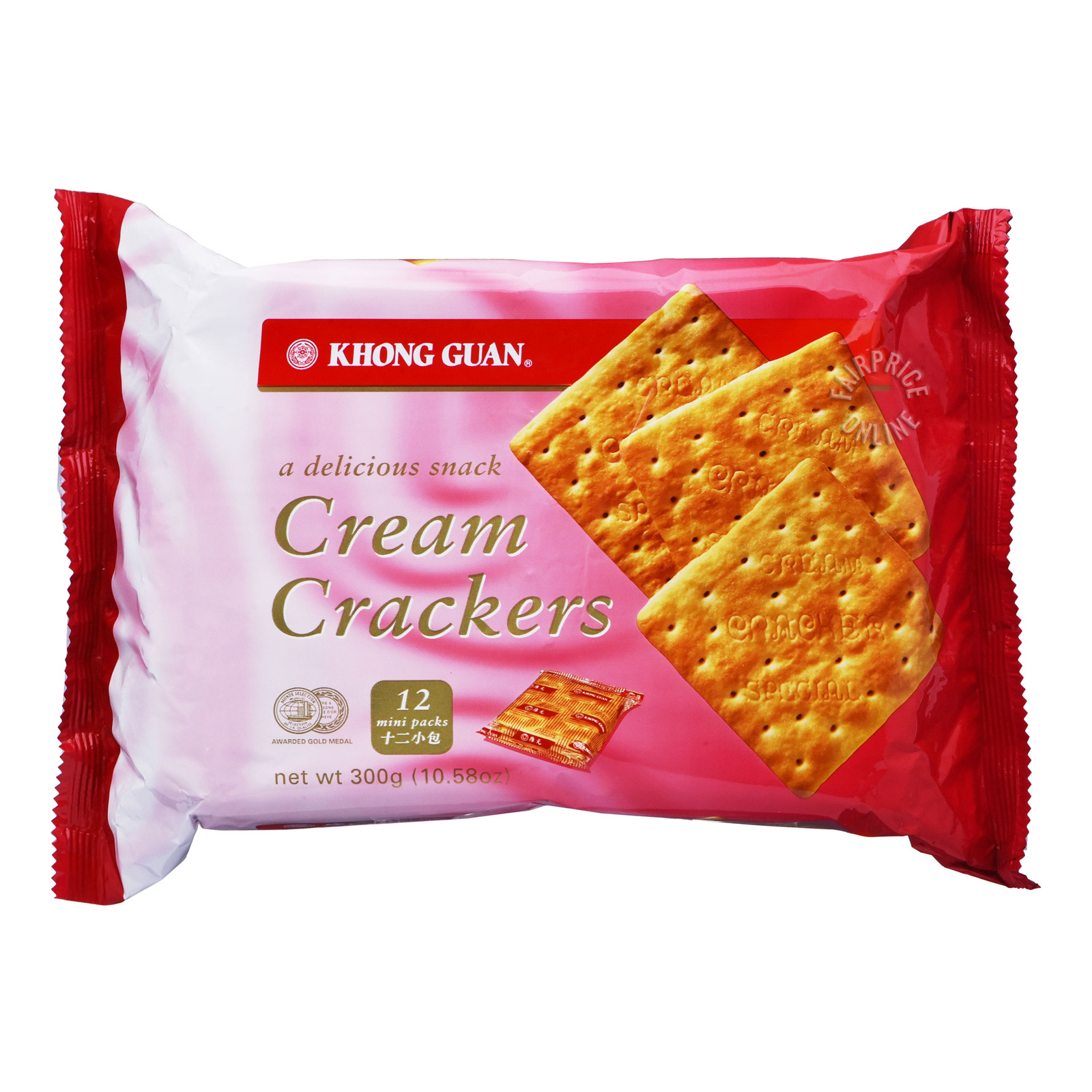 Khong Guan Crackers - Cream
