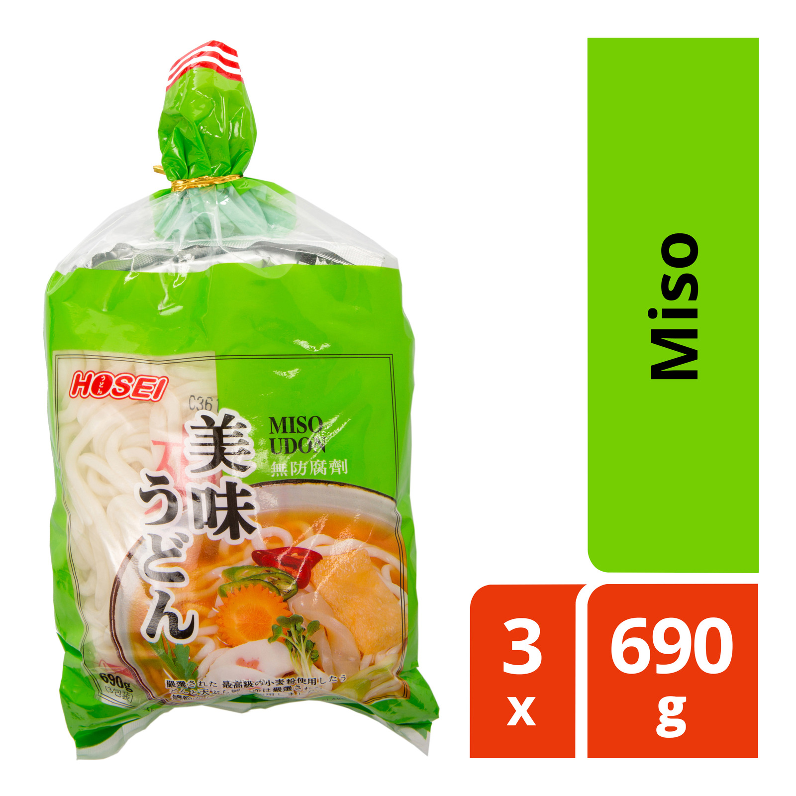 Hosei Instant Udon - Miso