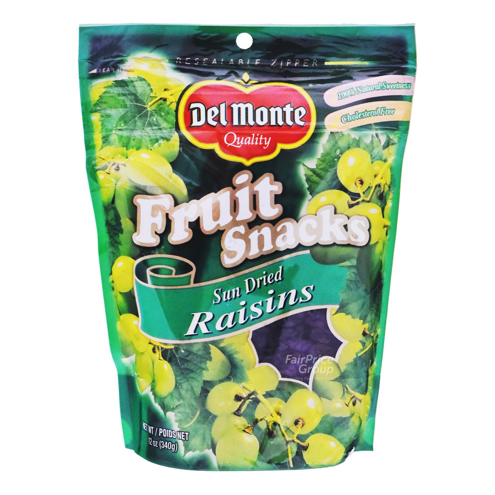 Del Monte Fruit Snacks - Sun Dried Raisins