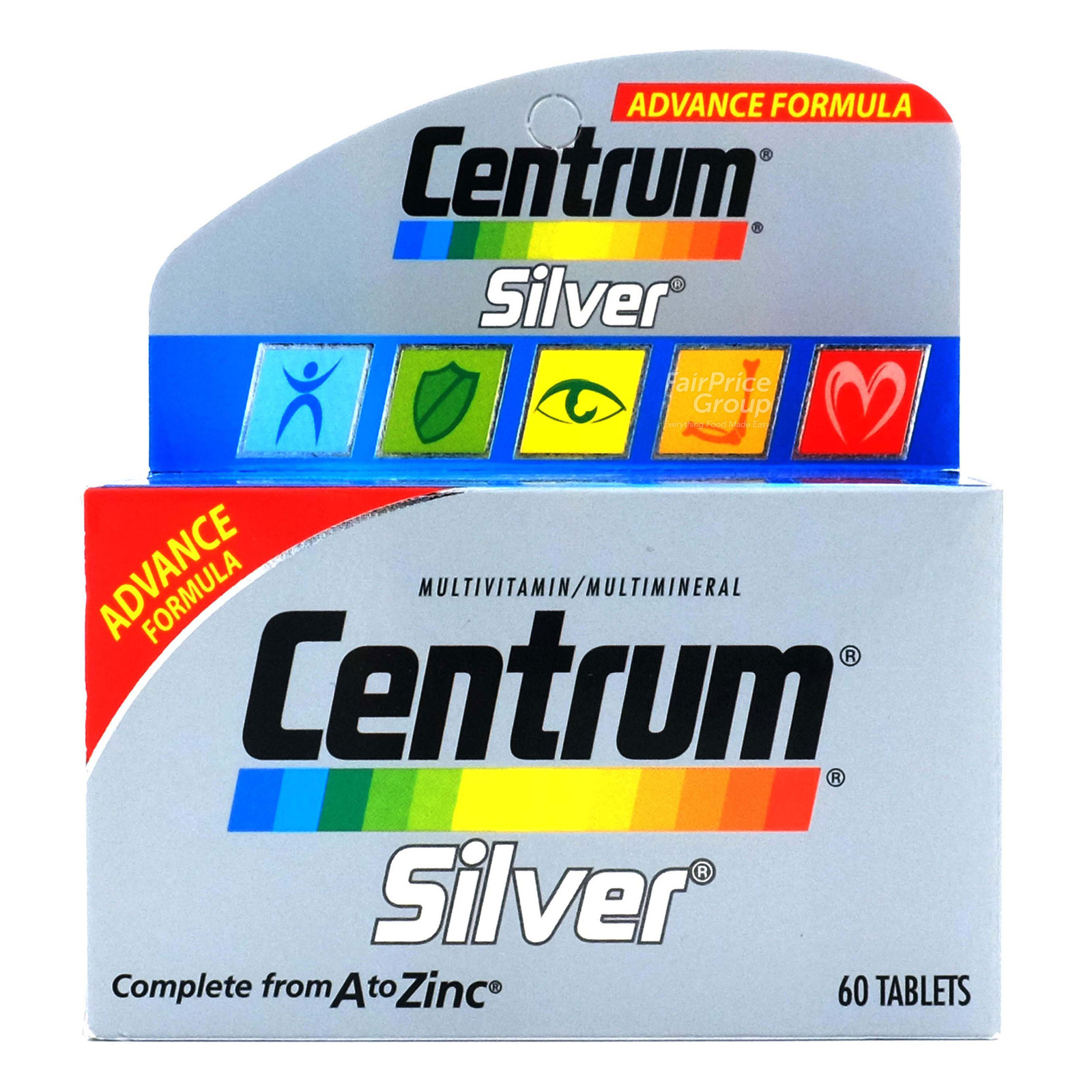 Centrum Multi Vitamin Tablets - Silver