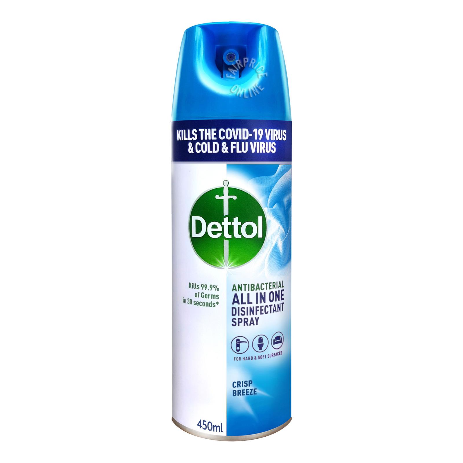 Dettol Disinfectant Spray - Crisp Breeze
