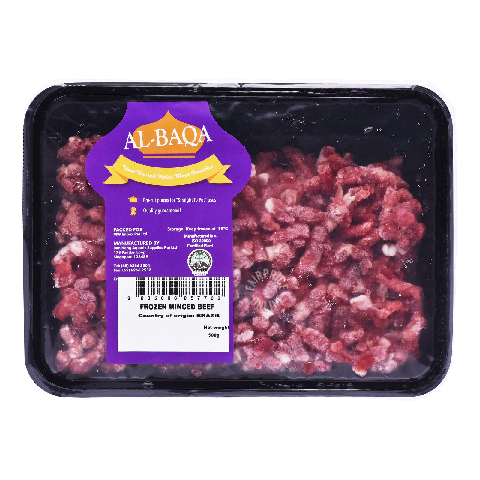 AL-Baqa Frozen Minced Beef