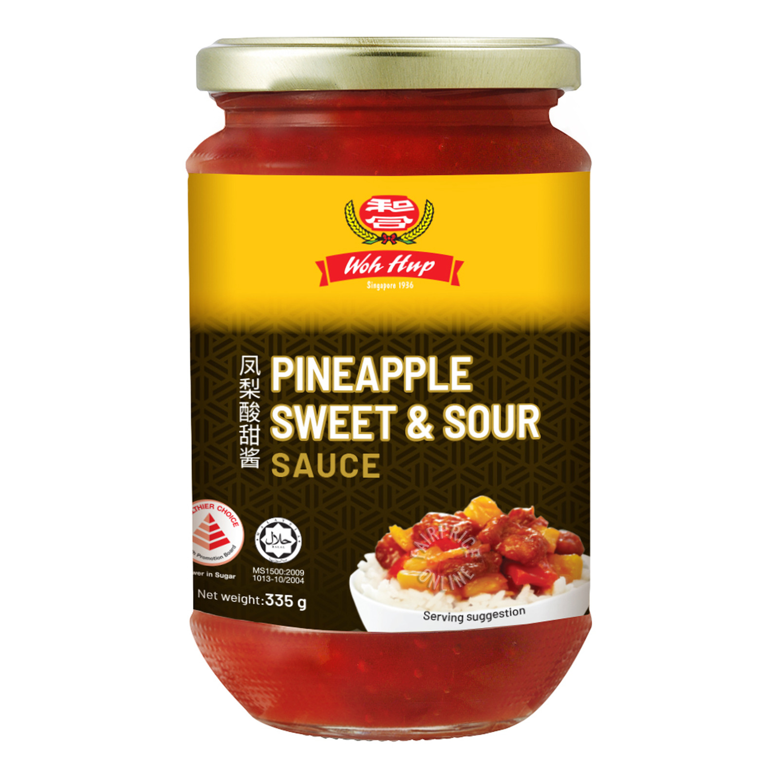 Woh Hup Sauce - Pineapple Sweet and Sour
